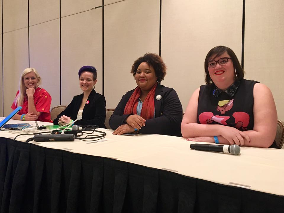 ClexaCon Queer Representation in Steven Universe Panel